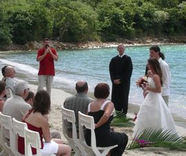 Wedding in St. Thomas - November 2006